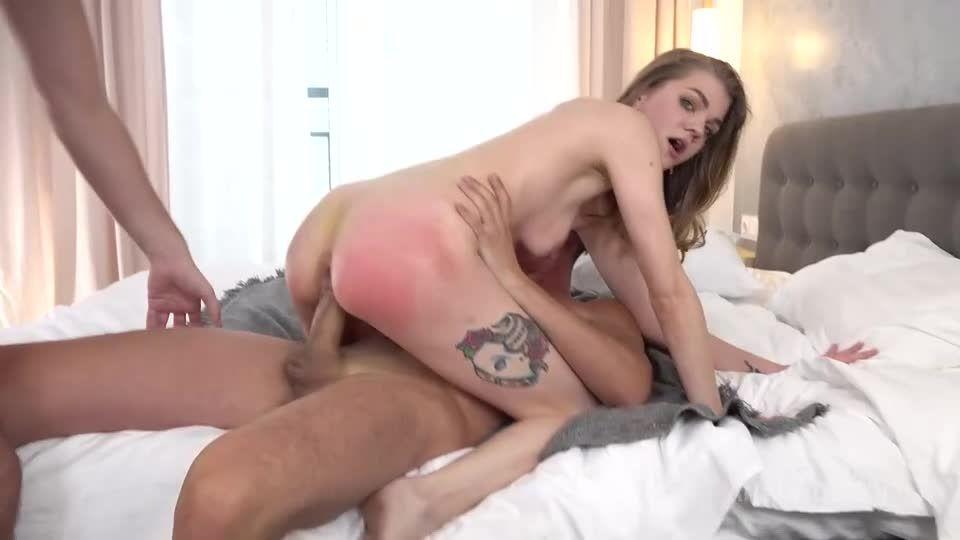 Hard DP, Fast Deep Anal Fuck, Footjob, Gagging, Cum Swallowing VK090 (LegalPorno) Screenshot 2