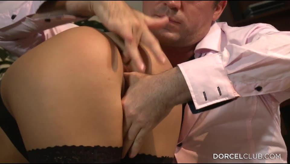 [DorcelClub] Hard Threesome With The Secretary - Annabella (DP)/(2M1F)