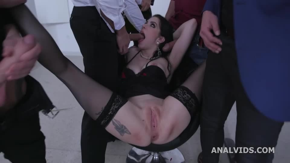 St Valentine's goes Well, Messy fantasy with Balls Deep Anal, DAP, Gapes, Buttrose and Anal creampie (LegalPorno / AnalVids) Screenshot 1