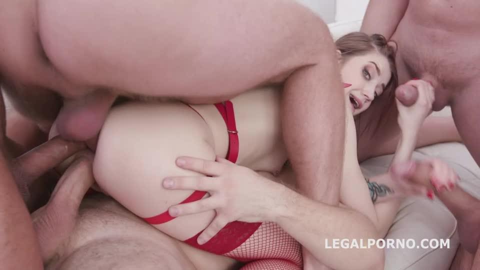 [LegalPorno] Monster of DAP, Balls Deep Anal, DAP, TP, Gapes, Facial - Sweet Hole (GangBang)/(Natural Tits)