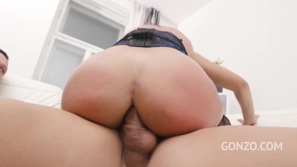 Bubble butt latina assfucked with Double Penetration (LegalPorno / Gonzo) Screenshot 8