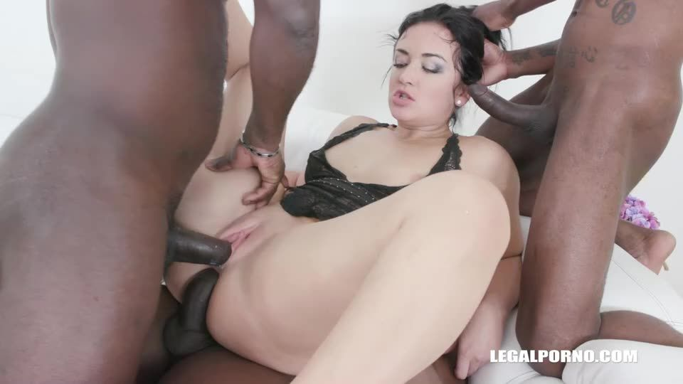 [LegalPorno] Tries african champagne - Sofia The Bum (DP)/(Pissing)