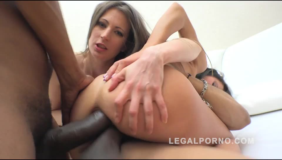 [LegalPorno] 80% anal fucking 20% kreme farting (interracial anal & DP) - Helen Star, Nina Heaven (DP)/(Brunette)