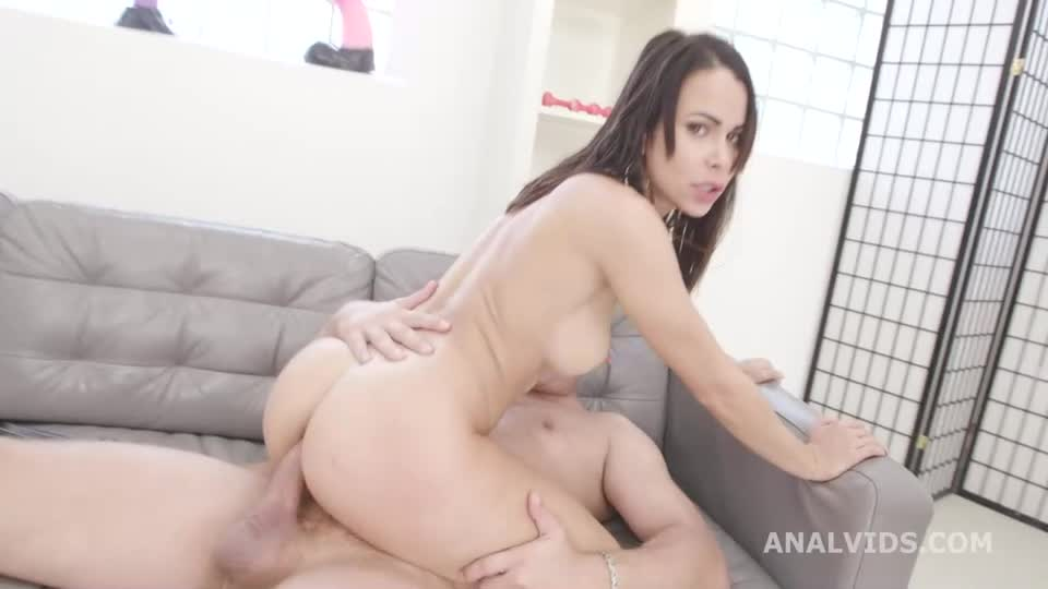 She Drinks! Balls Deep Anal, DP, Pee Drink, Squirt Drink and Cum Swallow (LegalPorno / AnalVids) Cover Image