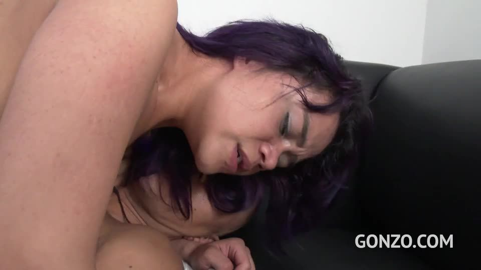Young colombian slut gets her first DP (LegalPorno) Screenshot 2