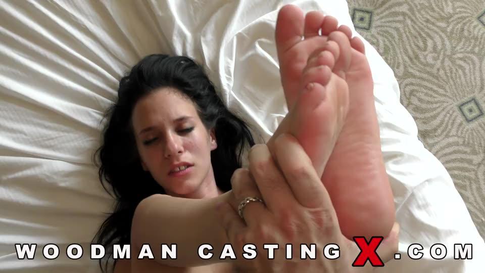[WoodmanCastingX] Double Penentration - Kitty Fox, Nikky Fox (DP)/(Natural Tits)
