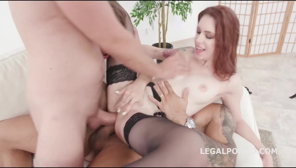 [LegalPorno] What a Gape! 1 Balls Deep Anal, Big Gapes, ATOGM, DAP, Ass Licking, Crempie to Swallow - Anna De Ville, Anna De Ville, Renata Fox (DAP)/(Brunette)