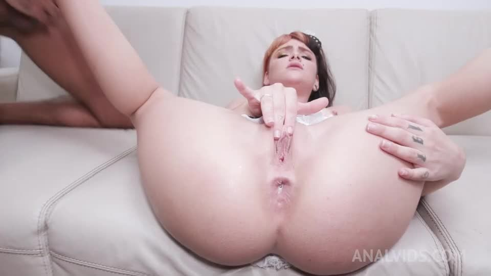 Hot maid fuck session with DP, DVP, DAP and first time Triple Penetration YE106 (LegalPorno) Screenshot 6