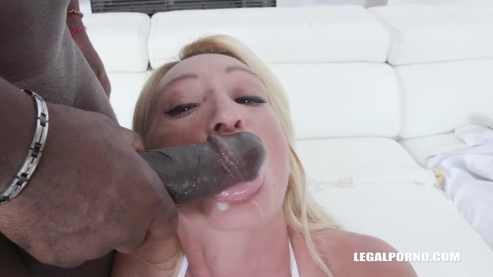 Back to get fucked by 3 BBC (LegalPorno) Screenshot 7