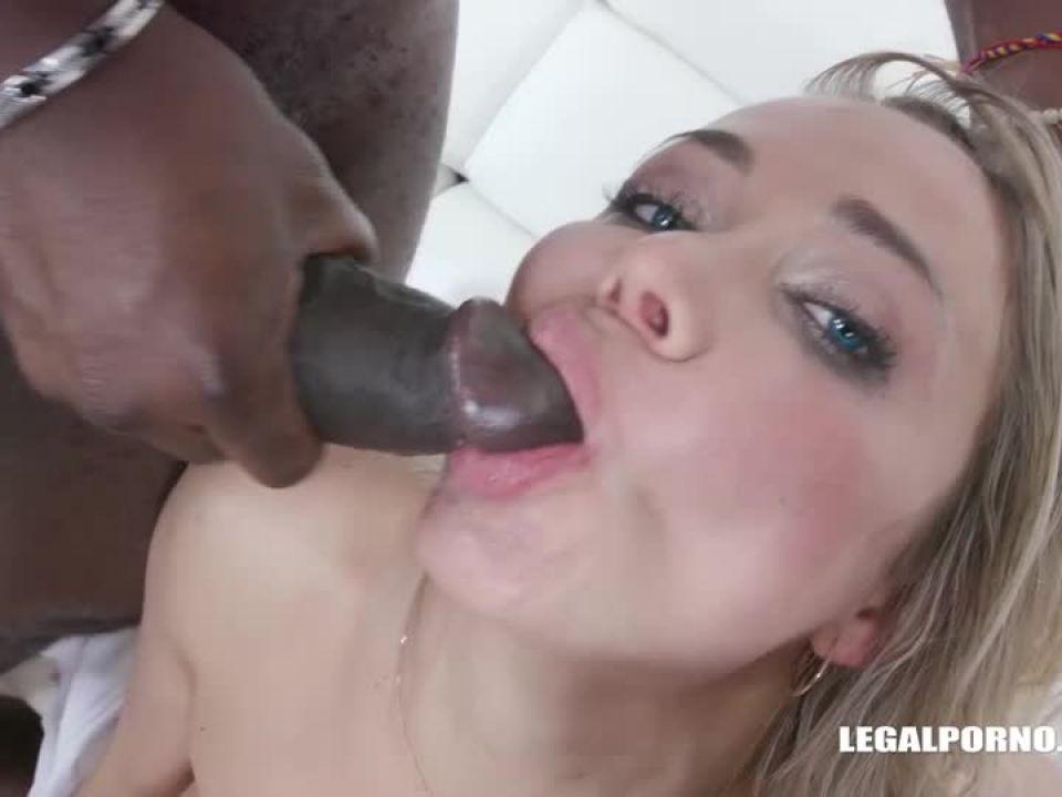 Double anal for obedient slut (LegalPorno) Screenshot 9
