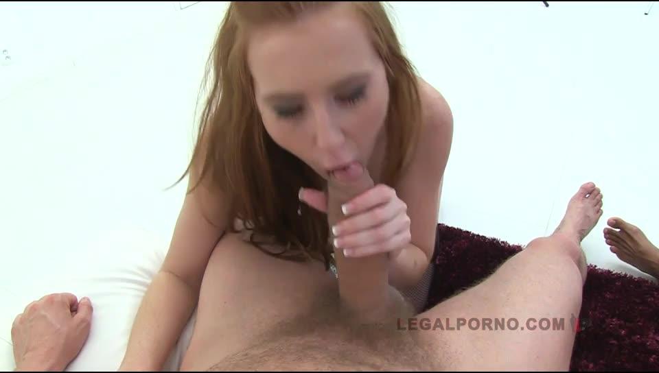 [LegalPorno] Double anal foursome - Linda Sweet, Karina Grand (DAP)/(High Heels)