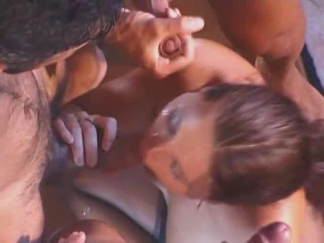 Dirty Girl Gangbang 2 / Golosita Anale (NJ Films) Screenshot 9