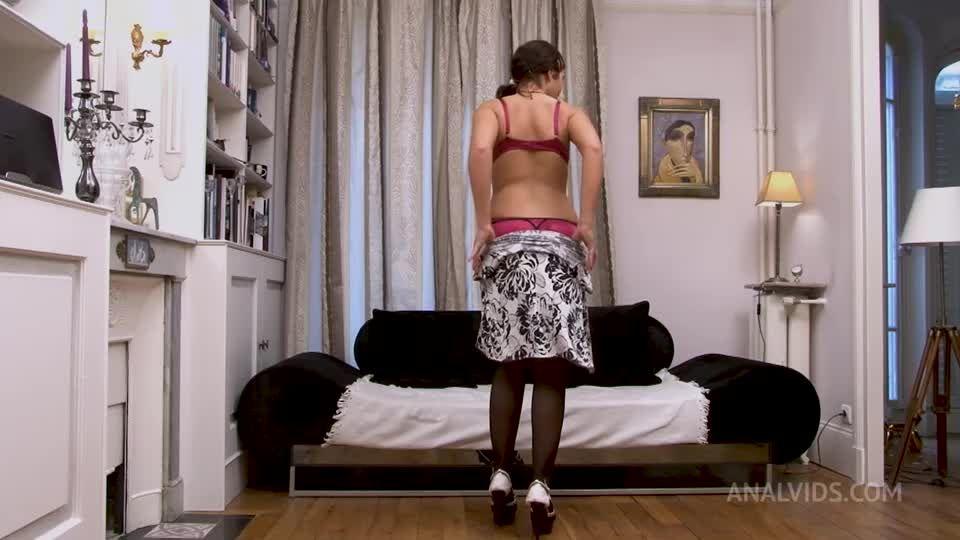 French Slut – 3Some DP DVP DAP First Time Ever RA039 (LegalPorno / AnalVids) Screenshot 0