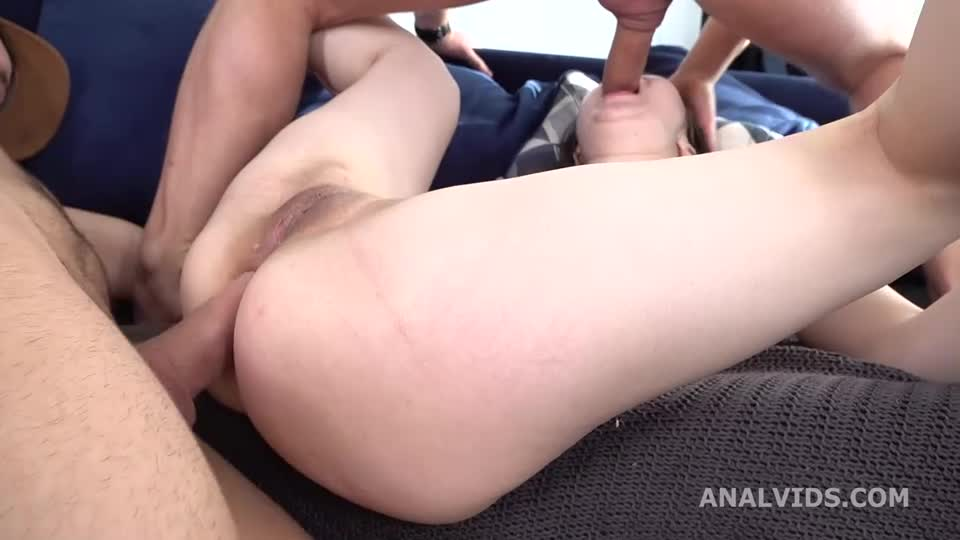My First DP, Balls Deep Anal, DP, Gapes and Facial (LegalPorno) Cover Image