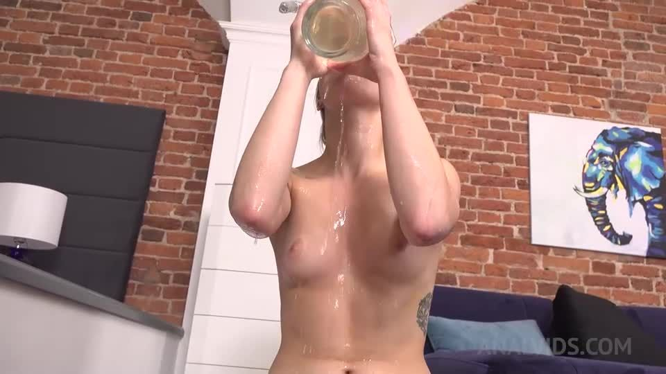 Pee Drink in Russian with the beauty! NRX042 (LegalPorno / AnalVids) Screenshot 9