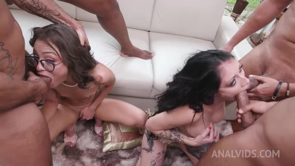 Hardcore with insane sluts (DAP, DP) YE119 (LegalPorno) Screenshot 5