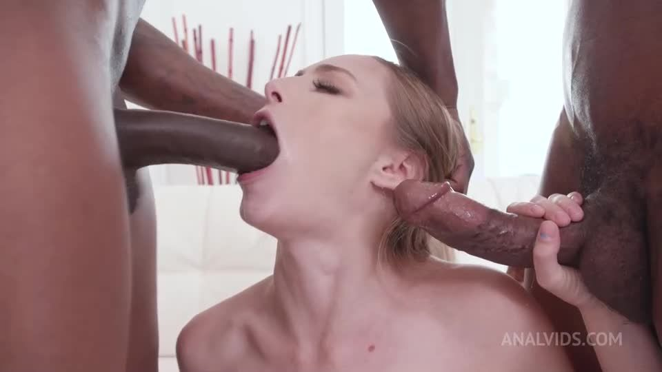 Takes two BBCs in the ass (anal, DP) BIW001 (LegalPorno / AnalVids) Screenshot 1
