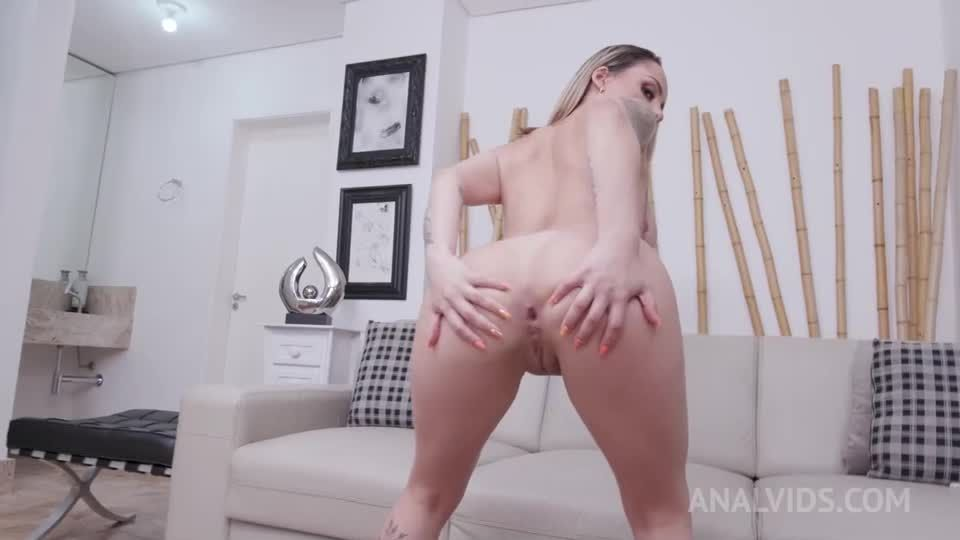 Anal fisted by Polly Petrova and assfucked by 3 cocks with DP and DAP YE127 (LegalPorno / AnalVids) Screenshot 0