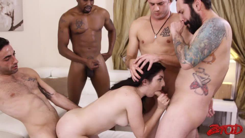 SchoolGirl Hottie Getting GangBanged (Ztod) Cover Image
